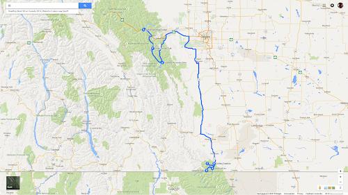 11 Roadtrip West VS en Canada 2014, Waterton Lakes naar Banff.png