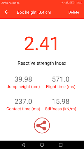 My Jump 2: Measure your jump screenshot 5