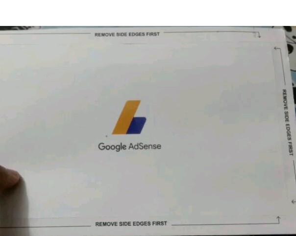 verify AdSense pin