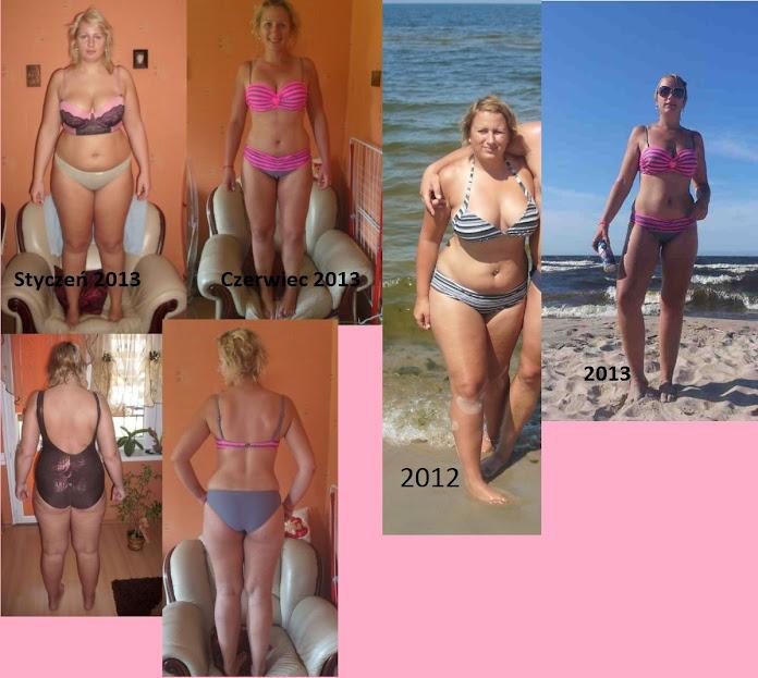 Ania przed i po