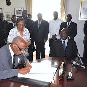 New Prime Minister Sworn In