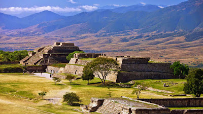 Center Zapotekov Monte Alban