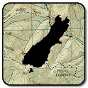 NZ Topo50 Offline South Island Map icon