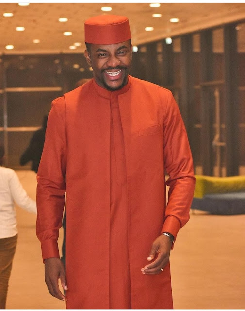 Ebuka Obi Uchendu who is one of the most stylish men in Nigeria, rocks another cute outfit to Calabar Carnival 2018
