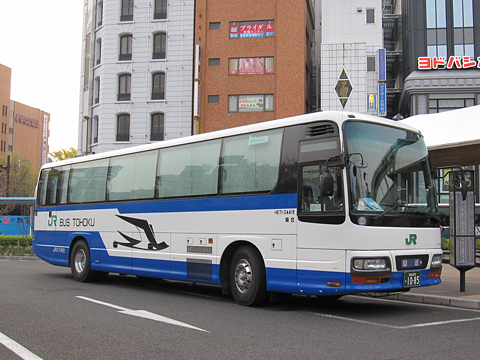 JRバス東北「WEライナー号」 夜行便 1085