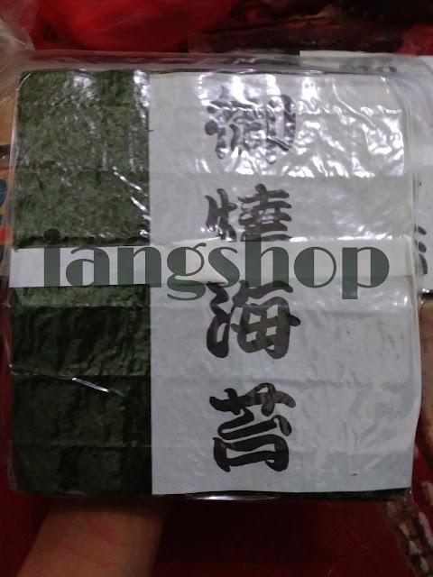 Jual nori murah rumput laut lembaran untuk sushi