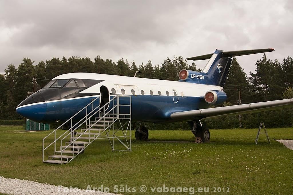 23.08.12 Eesti Lennundusmuuseumi eksponaadid 2012 - AS20120823LENNUK_073V.JPG