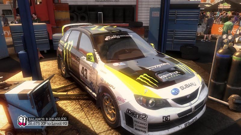 รายการรถกลุ่ม Rally ใน DiRT2 Sti-01