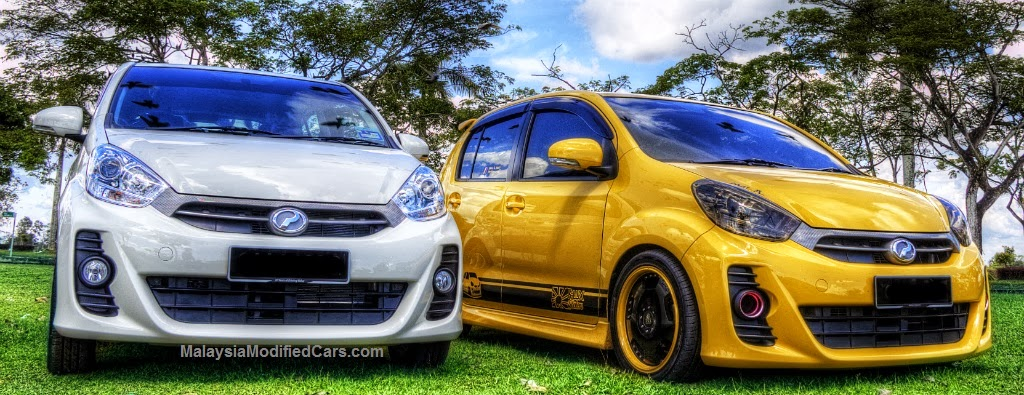 Modified Myvi