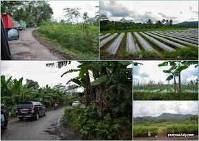 W drodze na Dieng Plateau