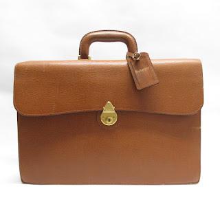 Burberrys Vintage Soft Briefcase