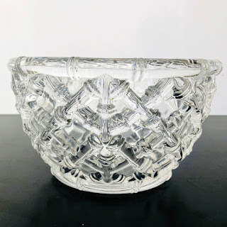 Tiffany & Co. Bamboo Crystal Bowl