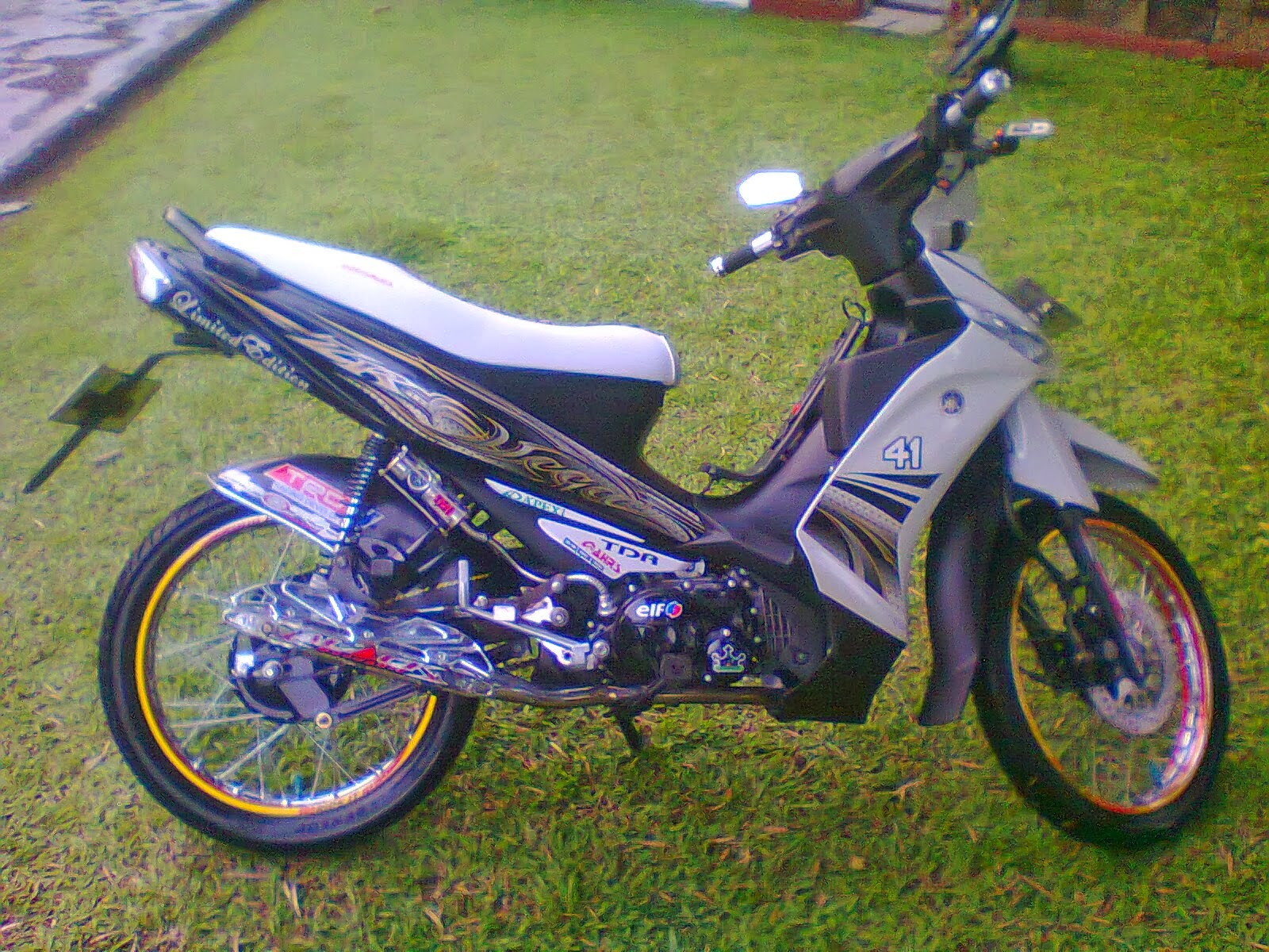 New Vega R Modifikasi Trail