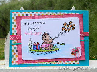 happy birthday card pebbles inc paper pad sunny side collection ephifany crafts penny black stamps
