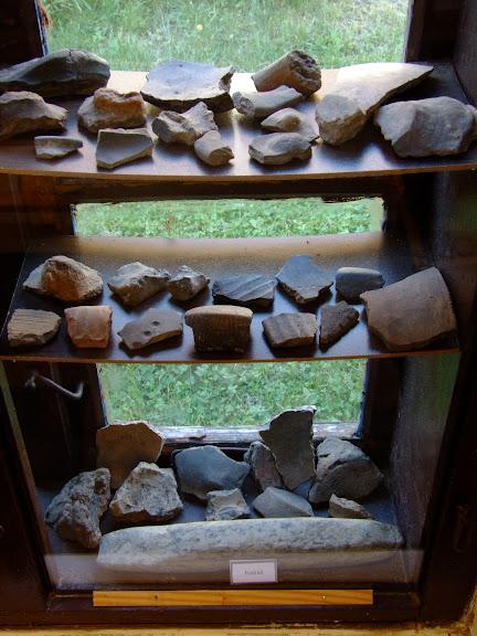 Bronzkori és kőkori leletek