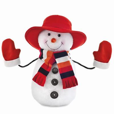 Como Hacer Un Mono De Nieve Para Decorar En Navidad Manualidad