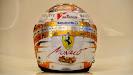 Fernando Alonso special Monaco helmet