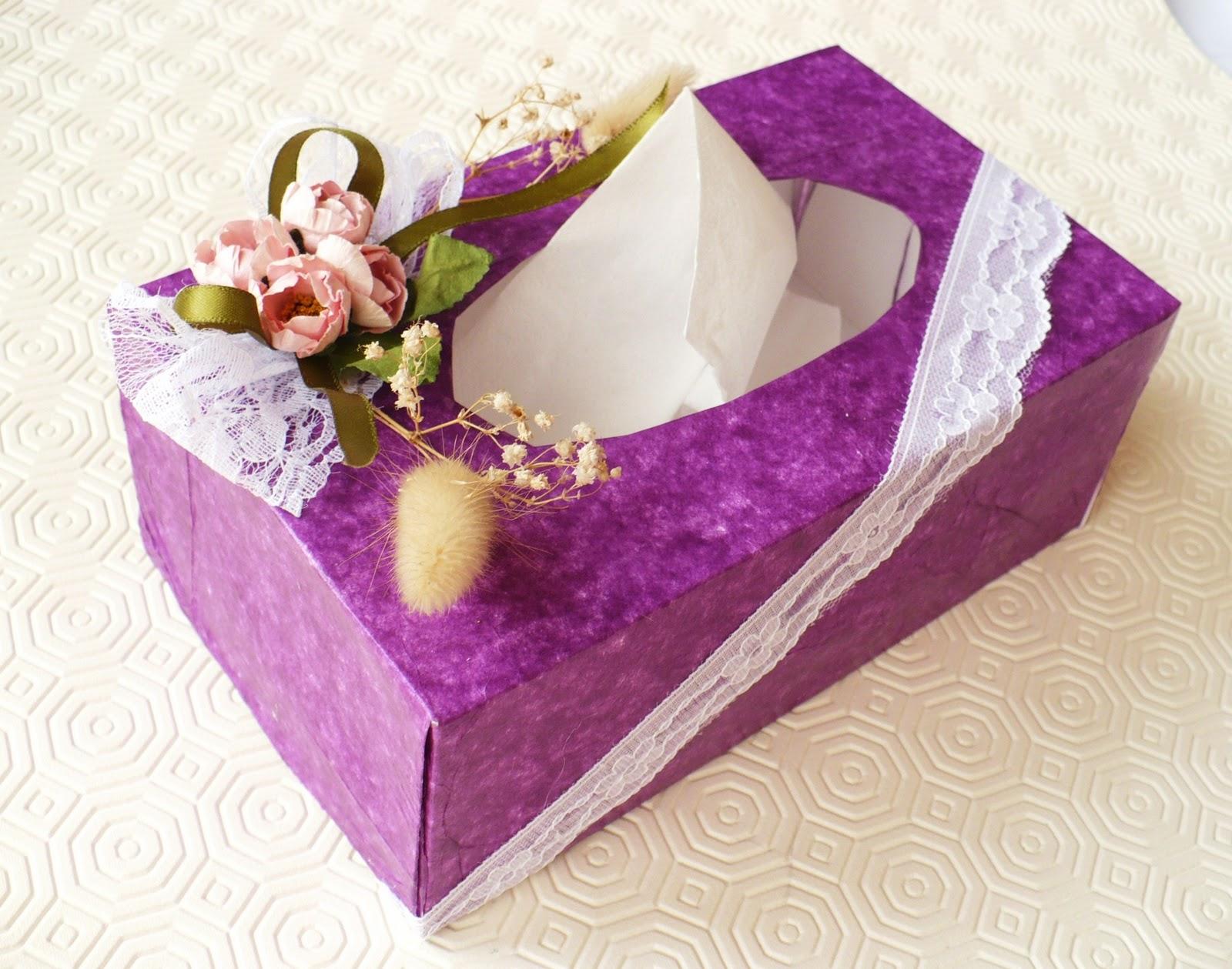 Ben noto Sweet Bio design: Porta fazzoletti decorato - Tissues holder  XF23