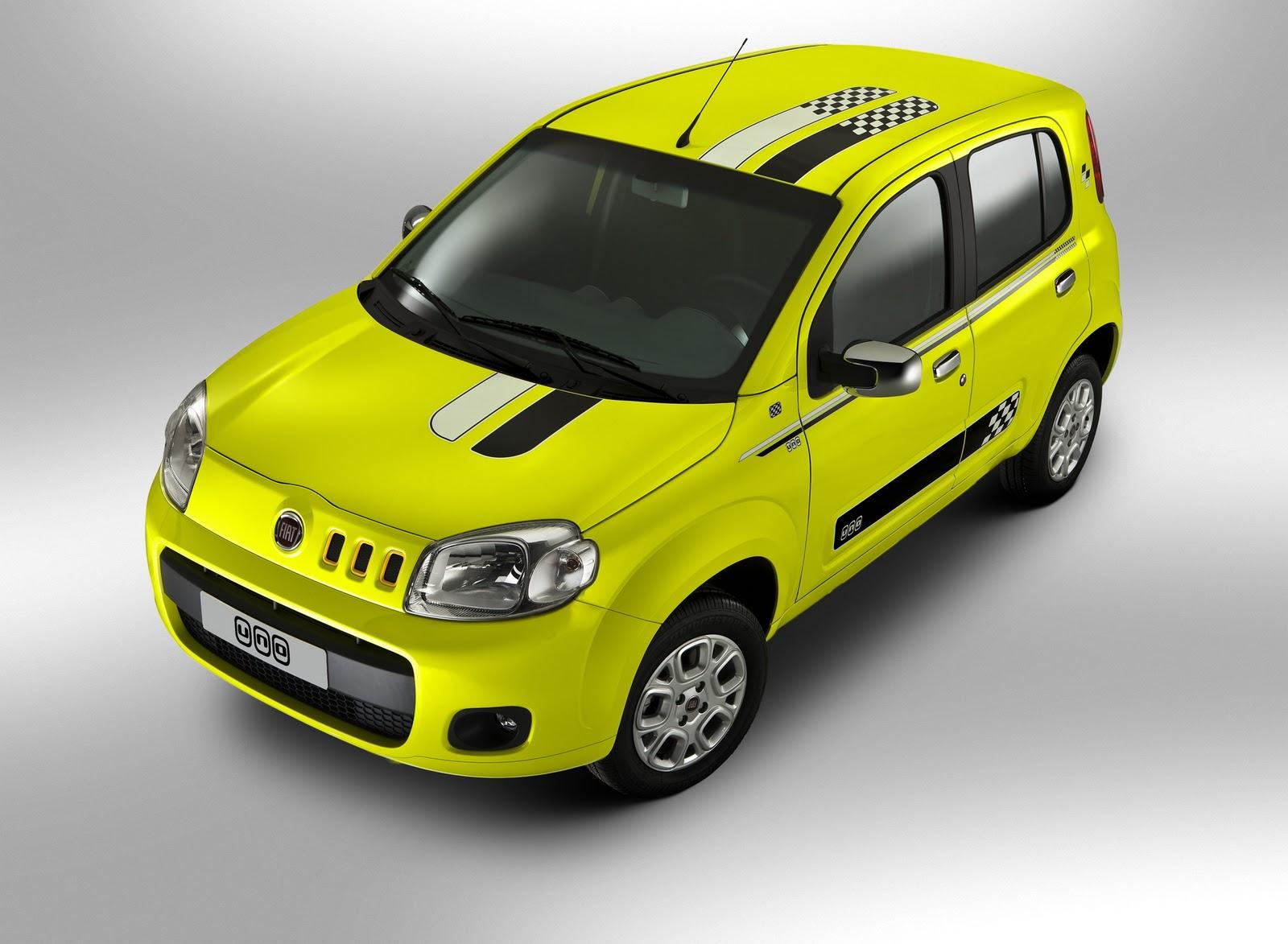 A Fiat é líder no mercado de carros no Brasil pelo décimo ano uno attractive podium 008