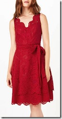 Phase Eight red lace dress