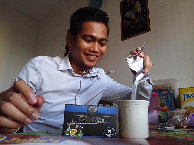Produk C-Trimax Untuk Korang Yang Nak Kurus & Perut Buncit