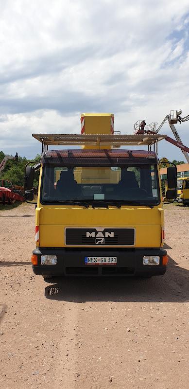Picture of a PALFINGER WT 170 H / MAN L2000 8.163 LC