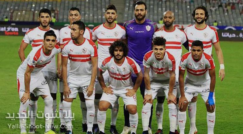 موعد مباراة الزمالك ومصر المقاصة