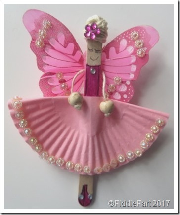 Popsicle Stick Fairy