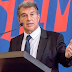 Laporta Elected Barcelona president for Second time, Speaks on Messi's Future