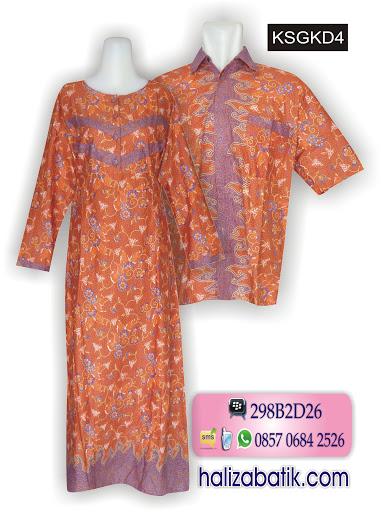 Beli Baju Batik, Baju Batik Sarimbit, Desain Baju Batik Modern, KSGKD4