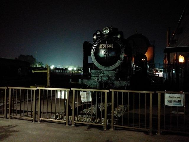 真岡駅SL