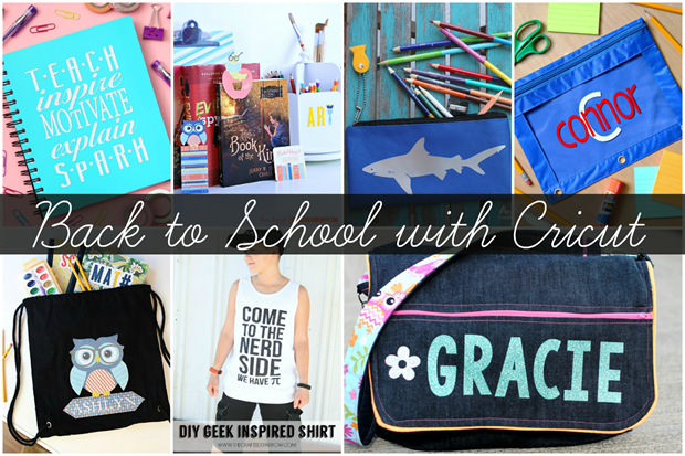 Back to School with Cricut #CricutMade