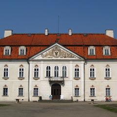 pałacyk w Nieborowie - widokówka