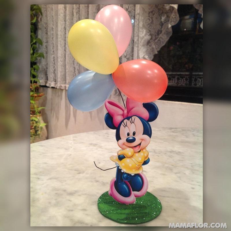 centro de mesa mickey y minnie mouse --- (34)