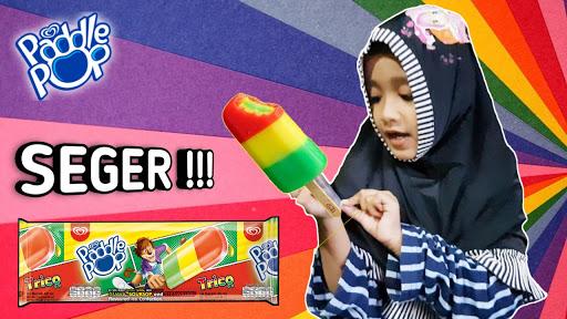 Nafis Wq Es Krim Paddle Pop Trico Icip Icip Ice Cream Rasa Buah