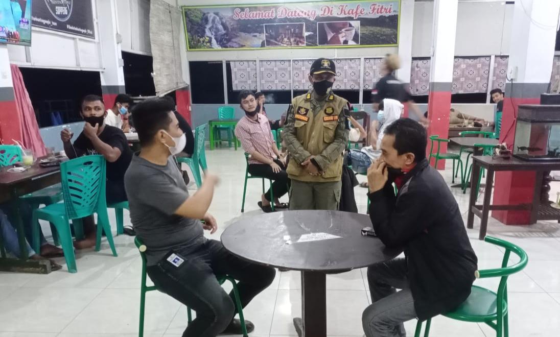 Pembatasan Jam Operasional di Kabupaten Soppeng Memasuki Hari Keempat