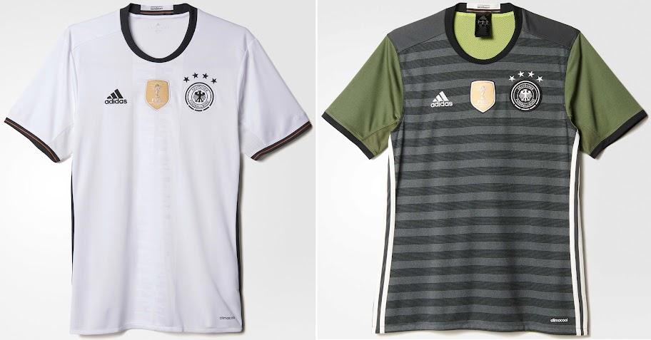 c8e2fa183 Germany Euro 2016 Kits – (Released). Germany s adidas home   away ...
