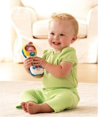 Hình ảnh Điện thoại cầm tay Vtech Tiny Touch Phone cho bé từ 1-3 tuổi