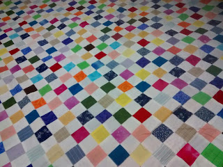 ProsperityStuff Quilts: 1008 Little Squares in a Checkerboard Pattern