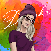 Dressika: fitting room && seasonal color analysis