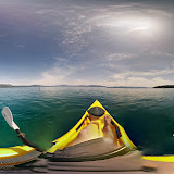 #TIL Today I learned it is hard to take a #photosphere from a kayak.