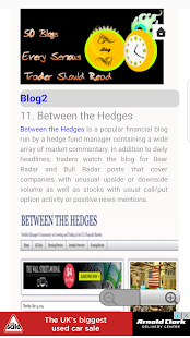 50 Blogs for Serious Trader - náhled