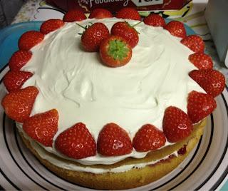 Strawberry Victoria Sponge