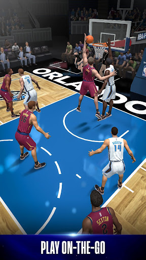 NBA NOW Mobile Basketball Game - screenshot