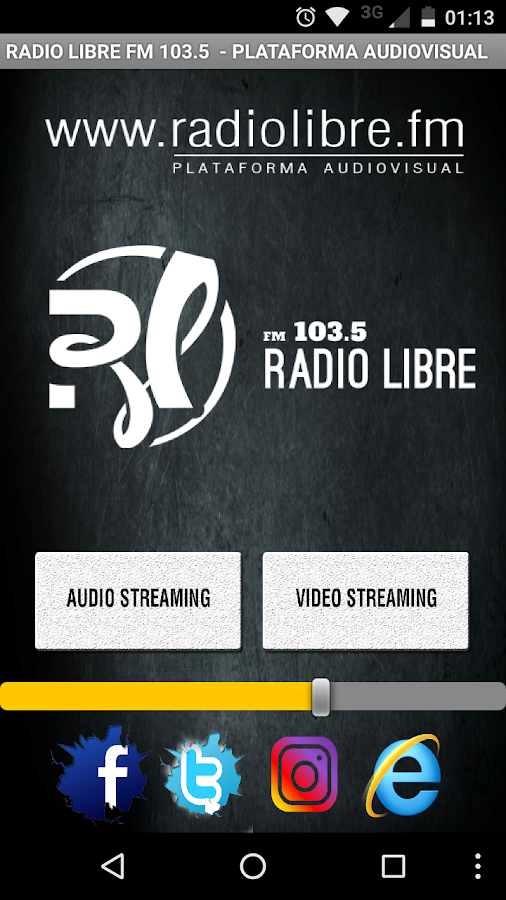 Radio Libre 103.5- screenshot