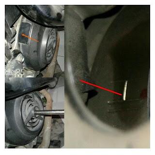 Cara Memposisikan Piston Di TMA  Mio