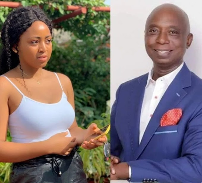 'Why I Married A Much Older Man' – Regina Daniels Tells Daddy Freeze In Dubai (Watch Video)