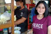 Viral, Miliki Paras Cantik Penjual Bakso ini Punya Pelanggan Mayoritas Cowok