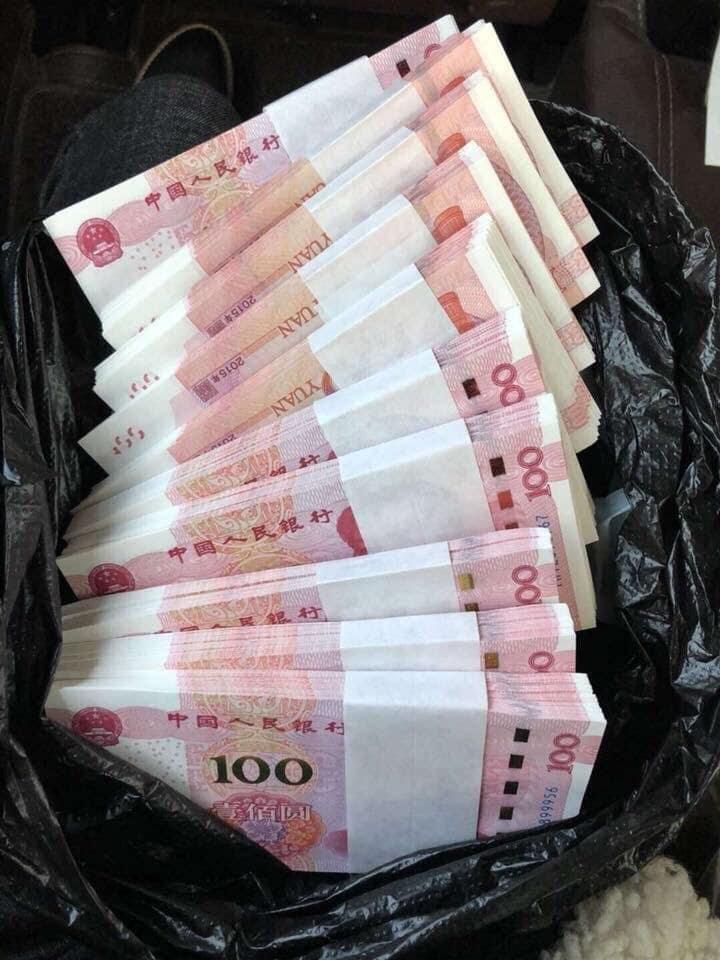 Tiền nhập hàng Trung Quốc