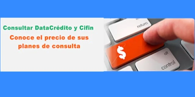 Consultar DataCrédito y Cifin: ¿valor de las consultas online en 2020?